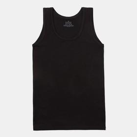 Майка мужская TANK TOP, цвет чёрный, размер 48 (M)