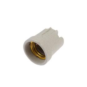 Патрон электрический IN HOME Д-002, Е27, керамический, подвесной Ош