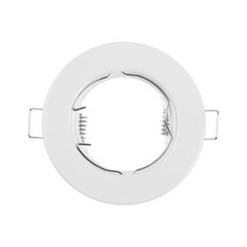 Светильник встраиваемый ITALMAC Montana 51 0 01, GU5.3, штампованная сталь, неповорот.,белый
