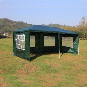 Шатер садовый 3*6м зеленый