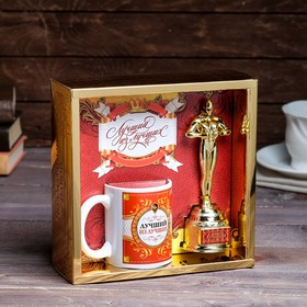 "Gift set ""best of the Best"" (Oscar, mug) 23х8,5х23 cm"