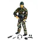 Солдат «Спецназовец», с аксессуарами, МИКС, в пакете