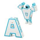 Робот-трансформер «Робо-буква», МИКС, в пакете