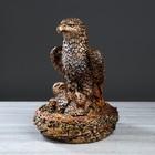 """Статуэтка """"Семья орлов"""", бронзовый цвет, 44 см"""