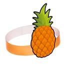 Mask headband Pineapple, cardboard