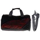 сумка спортивная S 46666 35*19*19 см, 1 отд, дл ремень, 2 ручки