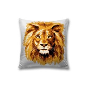 Наволочка декоративная «Царь зверей», размер 45 х 45 см, вшитая молния