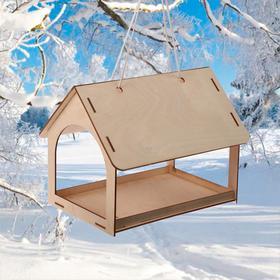 Kopмушка для птиц, 24 × 17 × 20 см, «Дом гостевой» Ош