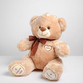 Мягкая игрушка «Медведь с вышитым сердцем», 50 см, МИКС