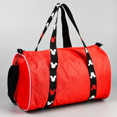 Bag sport Mickey 38*23*23 the division zipper, long strap