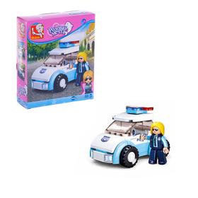 Конструктор Розовая Мечта «Девочка полицейский», 68 деталей