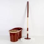 Набор для уборки 16 л Mop Style, цвет коричневый