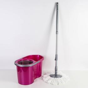 Набор для уборки 16 л Mop Style, цвет лиловый