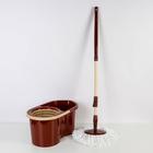 Набор для уборки 14 л Eco Mop Style, цвет коричневый