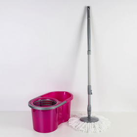 Набор для уборки 14 л Eco Mop Style, цвет лиловый