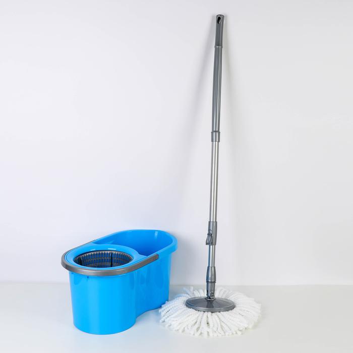 Набор для уборки 14 л Eco Mop Style, цвет голубой
