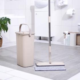 Набор для уборки Mop Style, плоская швабра и ведро 5 л