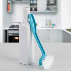 Щётка для мытья посуды малая «Колибри», цвет МИКС