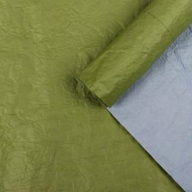 "Paper packing, ""Ekolyuks two-tone"", khaki - purple, 0.7 x 5 m"