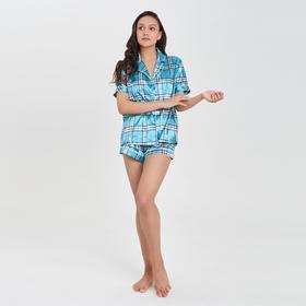 The women's kit (shirt,shorts) color blue, R-R 42