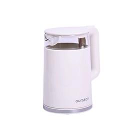 Чайник Oursson EK1732W/IV, 2200 Вт, 1.7 л, пластик, автоотключение, белый