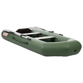 Лодка «Капитан» 280ТС, слань, цвет зелёный