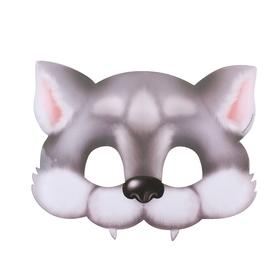 Маска карнавальная «Волк»