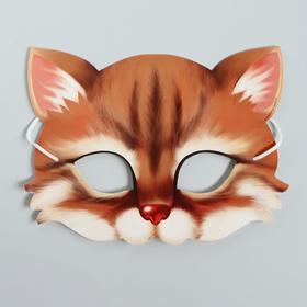 Маска карнавальная «Котик»