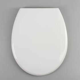 Сиденье для унитаза с крышкой универсальное Berges Optim, с микролифтом, цвет белый