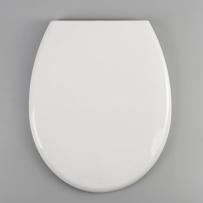 Сиденье для унитаза с крышкой универсальное Berges Optim, с микролифтом, цвет белый - фото 7930680