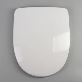 Сиденье для унитаза с крышкой универсальное Berges Uno, с микролифтом, цвет белый
