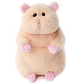 Мягкая игрушка «Хомяк», 20 см, цвет персиковый