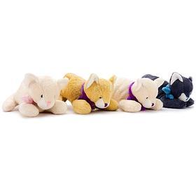 Мягкая игрушка «Кот», 12 см, лежачий, МИКС