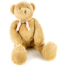 Мягкая игрушка «Медведь», 40 см, цвет светло-коричневый/розовый