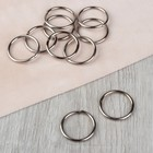 The ring ledge, d=2.5 cm, 10 PCs, metal