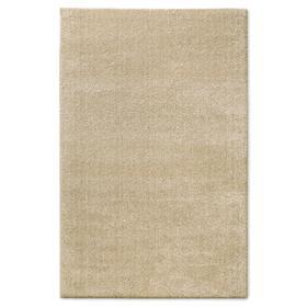 Ковёр прямоугольный Shaggy,1.2x1.7 м, цвет светло-коричневый