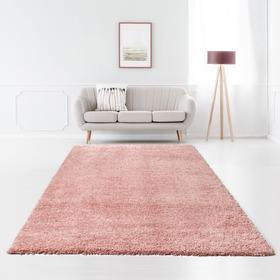 Ковёр прямоугольный Shaggy Viva 30 2.0x2.9 м, цвет розовый