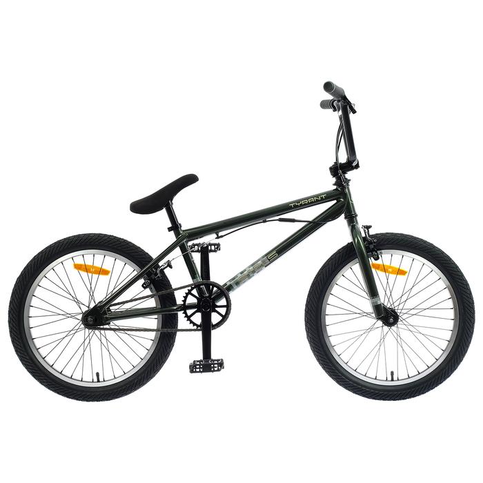 "Велосипед 20"" Stels Tyrant, V010, цвет оливковый, размер 20,5"""