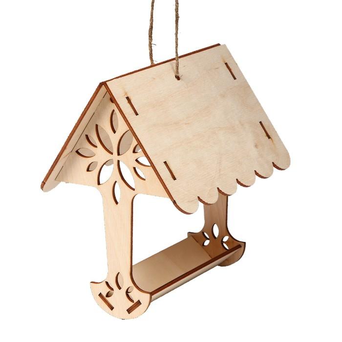 Kopмушка для птиц «Дерево», 18 × 16 × 15 см