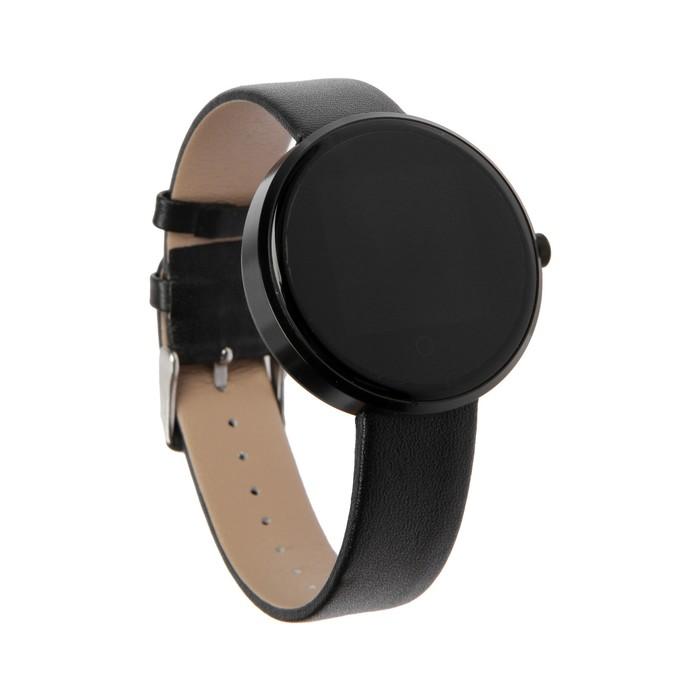 """Смарт-часы Prolike PLSW5500BK, дисплей 1.22"""", 220 мАч, черные"""