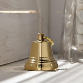 Колокольчик Валдайский №2, полированный, с ушком, d=35 мм