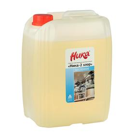 """Средство хлоросодержащее щелочное моющее """"Ника-2 хлор (беспенное)"""", кан. 6,0 кг"""