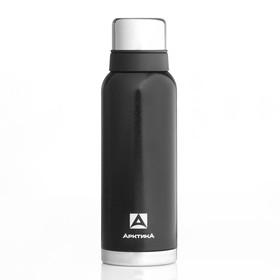 """Термос """"Арктика"""", 1.2 л, вакуумный, чёрный"""