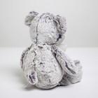 Мягкая игрушка «Медвежонок с бантом», 25см, цвет серый - фото 1055437