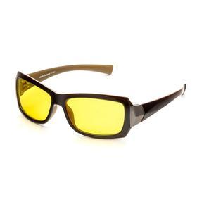 Водительские очки SPG «Непогода | Ночь» luxury, AD050 коричнево-бежевые