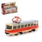 Трамвай металлический «Город», 1:87, инерция - фото 105653522