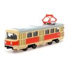 Трамвай металлический «Город», 1:87, инерция - фото 105653524