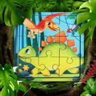 """Games on the road. Puzzle in frame """"Dinosaurs"""" P 310"""