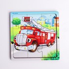 """Games on the road. Puzzle in frame """"Fire truck"""" P 313"""