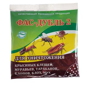 """Средство от насекомых """"Фас-дубль 2"""", 125 г"""
